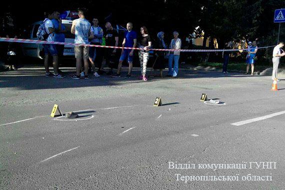 Ребенок погиб под колесами / фото Нацполіція