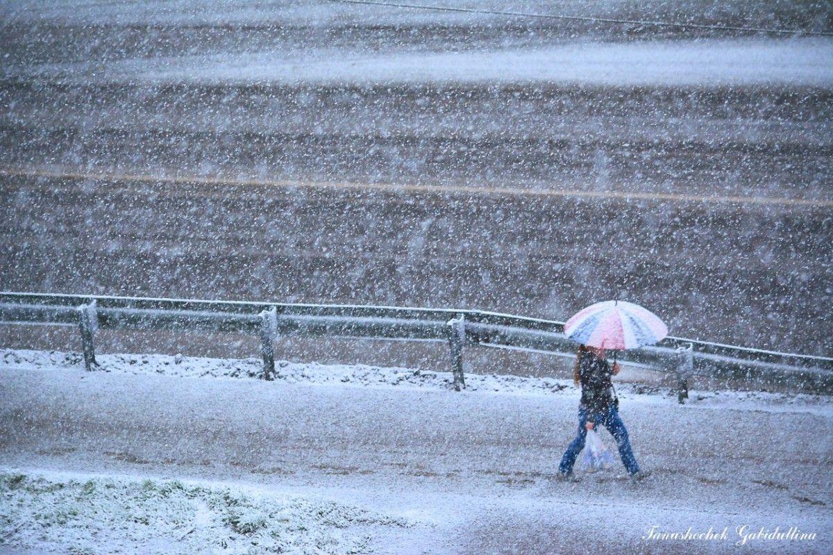 У Мурманську випав сніг / vk.com Танюшочек Габидуллина