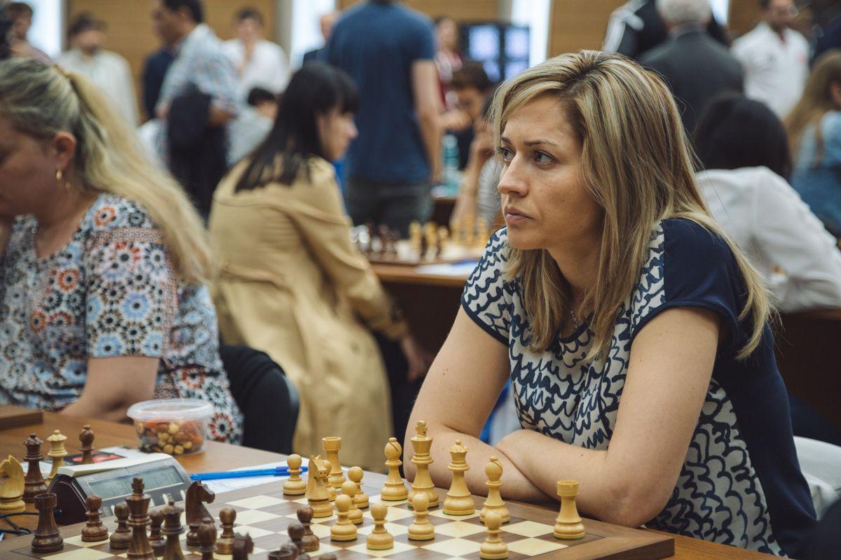 Наталья Жукова (Украина) / ugra2017.fide.com