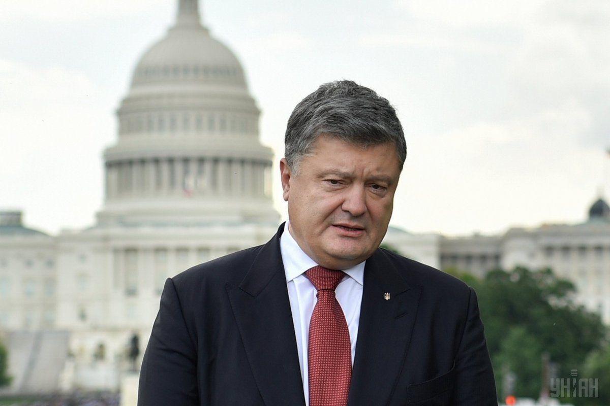 За словами президента не дають жодної надії військам Росії просуватись вглиб нашої держави / фото УНІАН