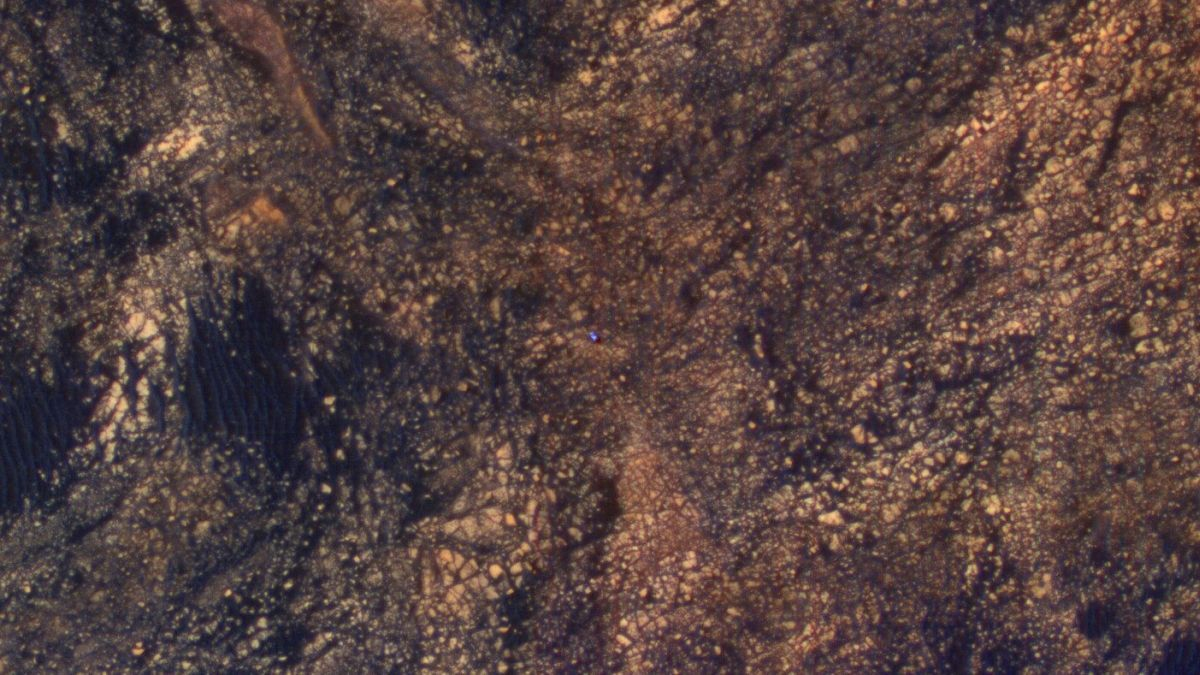 NASA опублікувало знімок марсохода Curiosity на горі Шарп