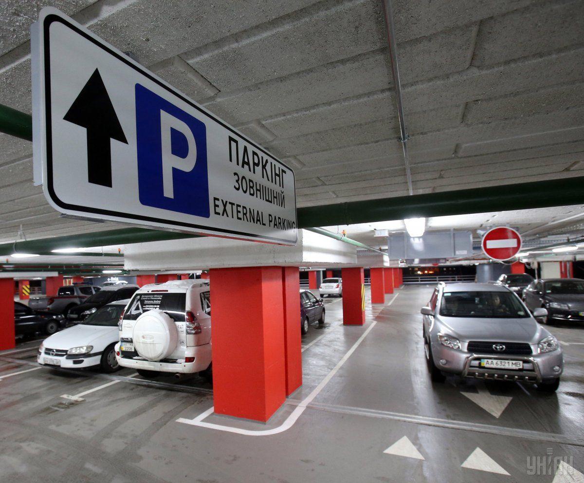 В украинских городах разрешили устанавливать автоматизированные парковки / фото УНИАН