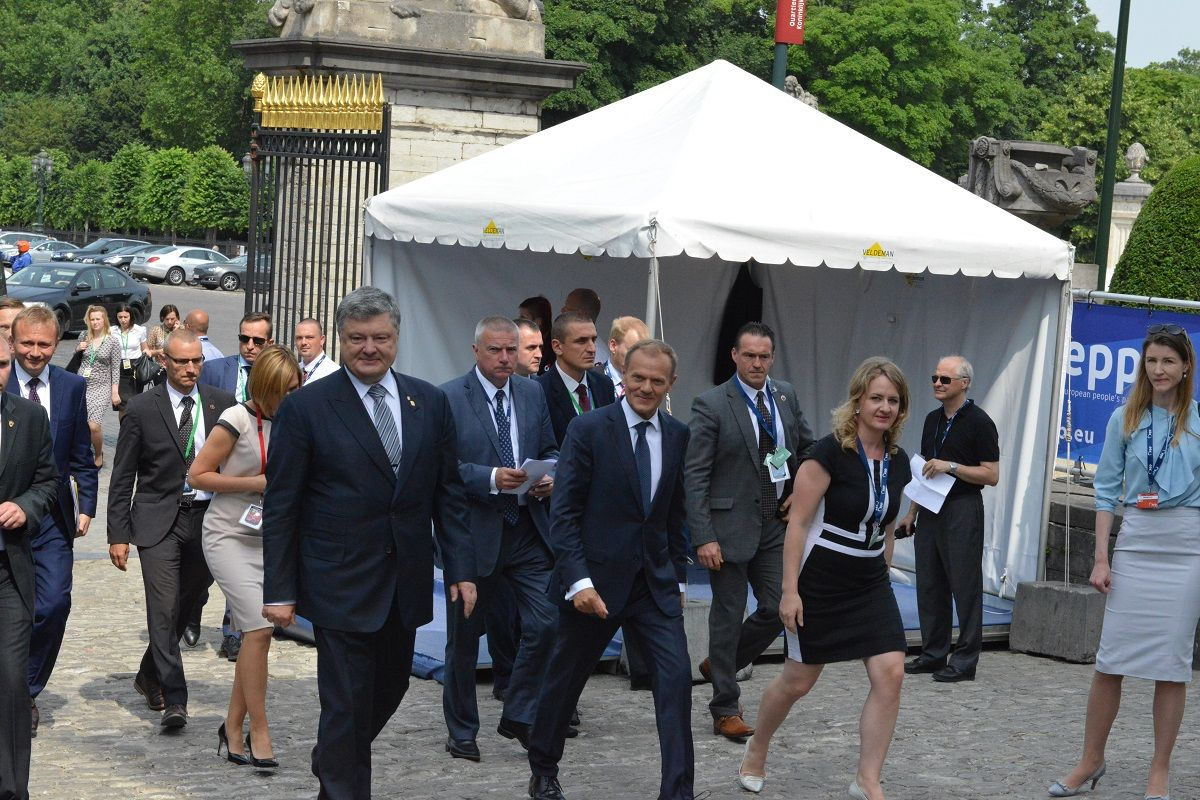 После встреч в Вашингтоне Порошенко отправился в Брюссель / фото УНИАН