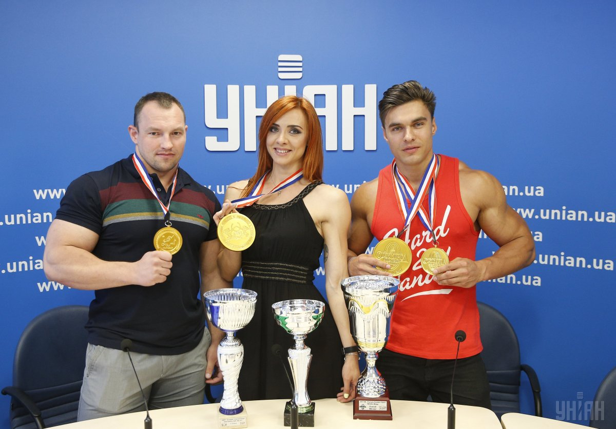 Українськими бодібілдери стали кращими серед представників 193-х країн / УНІАН