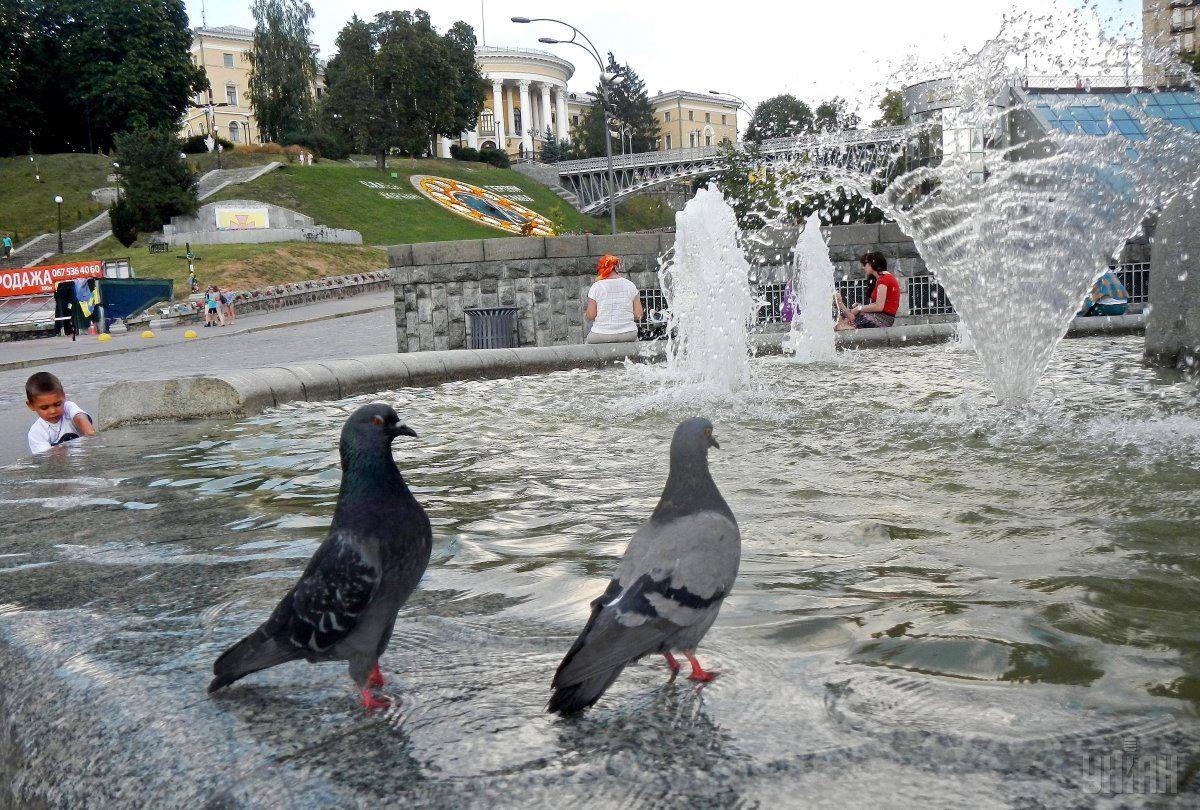 Спека у Києві почне спадати вже завтра / фото УНІАН
