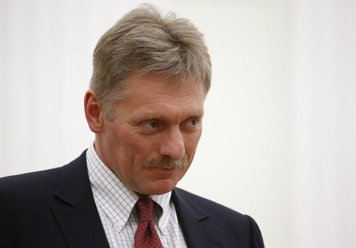 Дмитрий Песков прокомментировал ситуацию на Донбассе / фото REUTERS