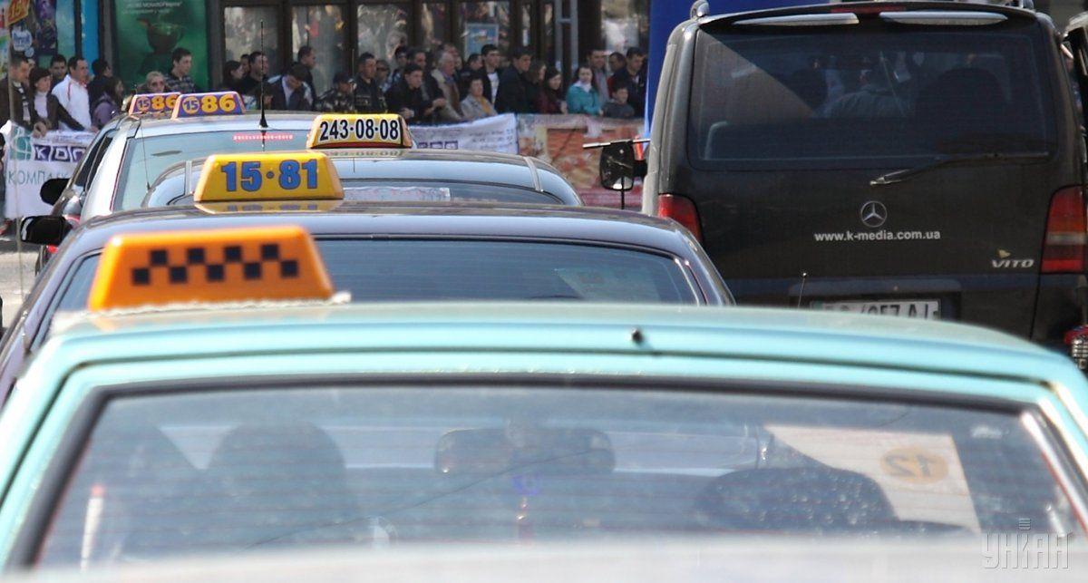 Рынку такси угрожает новый законопроект/ фото УНИАН