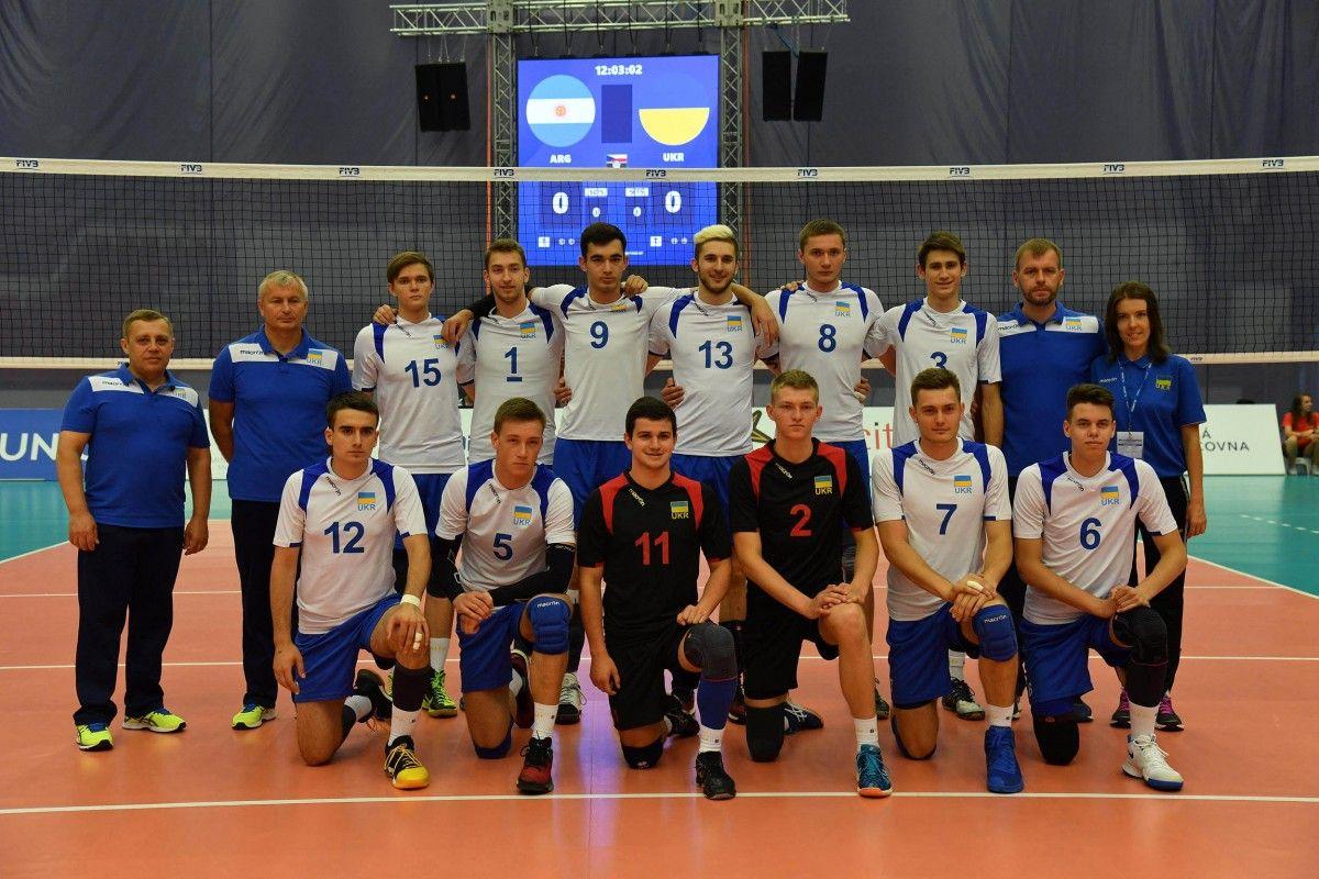 Сборная Украины стартовала на чемпионате мира (U-21)  / fivb.com