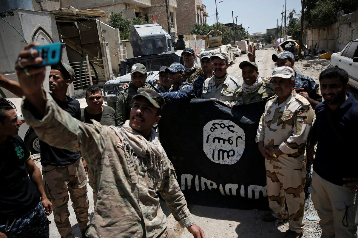 Исламские террористы изгруппировки взорвали легендарную мечеть Аль-Нури вМосуле