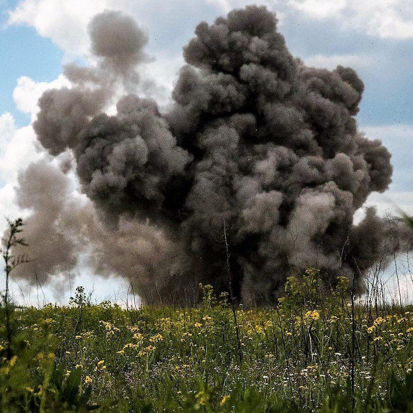 Боевики активизировались в районе Желобка / facebook.com/93OMBR