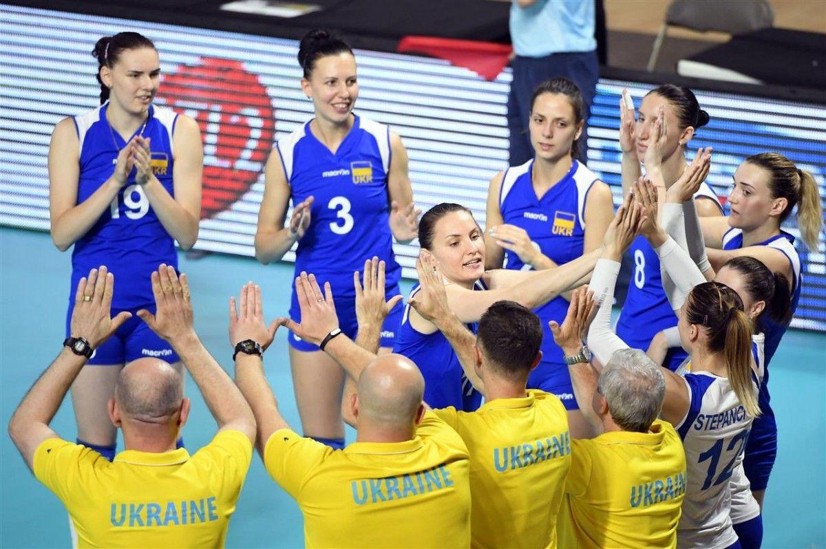 Сборная Украины - в Финале четырех Евролиги / cev.lu