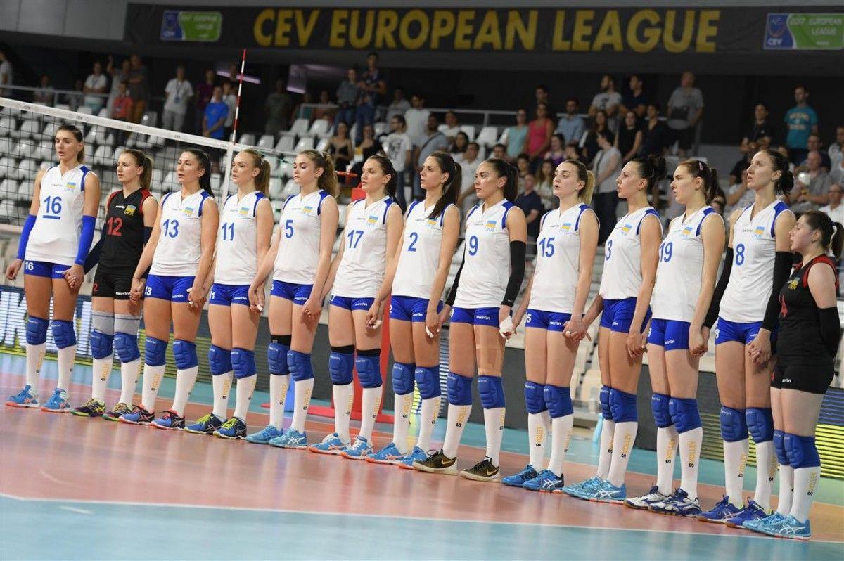 Сборная Украины по волейболу легко обыграла Грузию - 3:0 / cev.lu