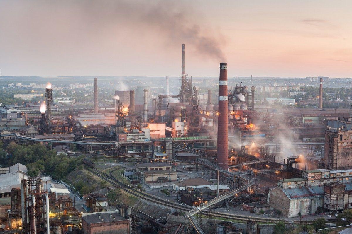 Воккупированном Донецке остановлен металлургический завод