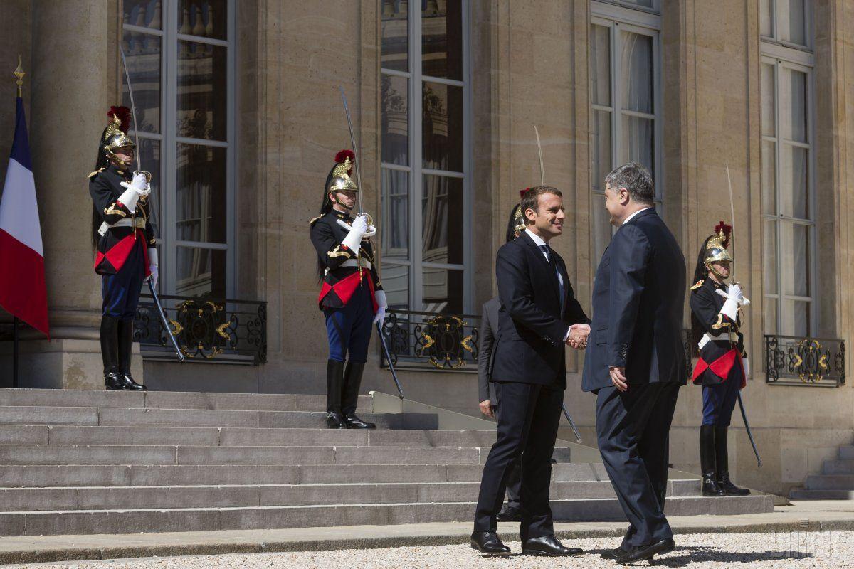 Макрон підтримав залучення України до виконання Паризької кліматичної угоди / фото УНІАН