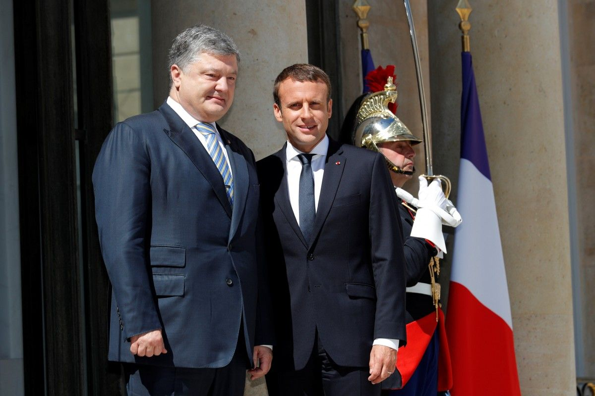 Poroshenko: Large number of agreements reached in France today