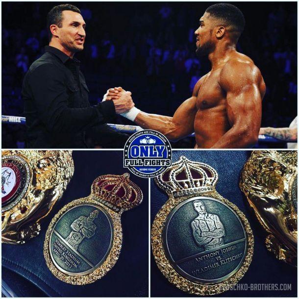 Несмотря на поражение от Джошуа Кличко входит в Топ-5 сильнейших боксеров мира / klitschko-brothers.com