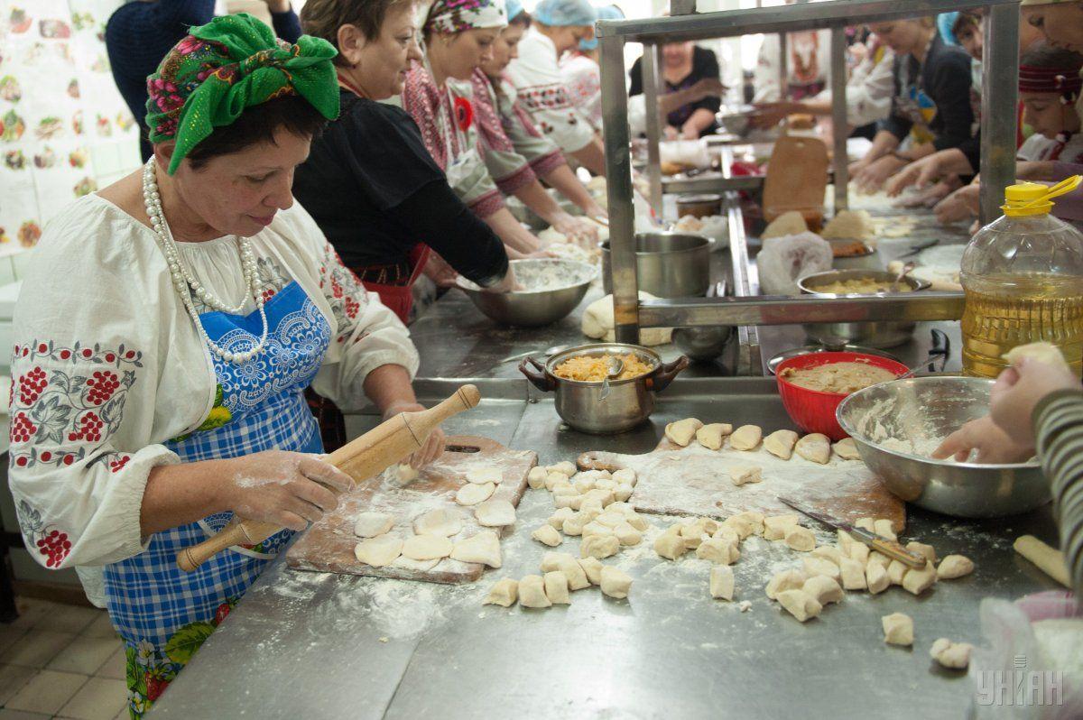 В ходе мероприятия поставят кулинарный рекорд \ фото УНИАН