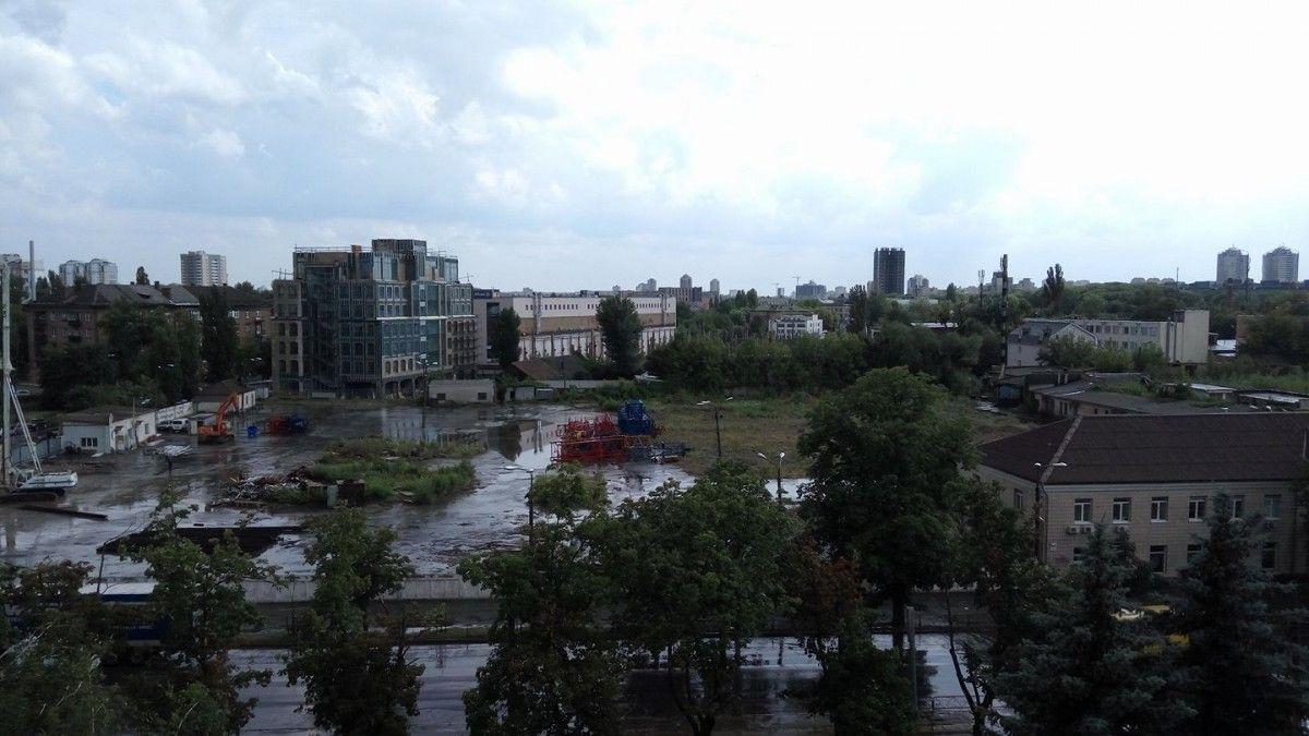 Наслідки зливи у столиці / facebook.com/mailolegid