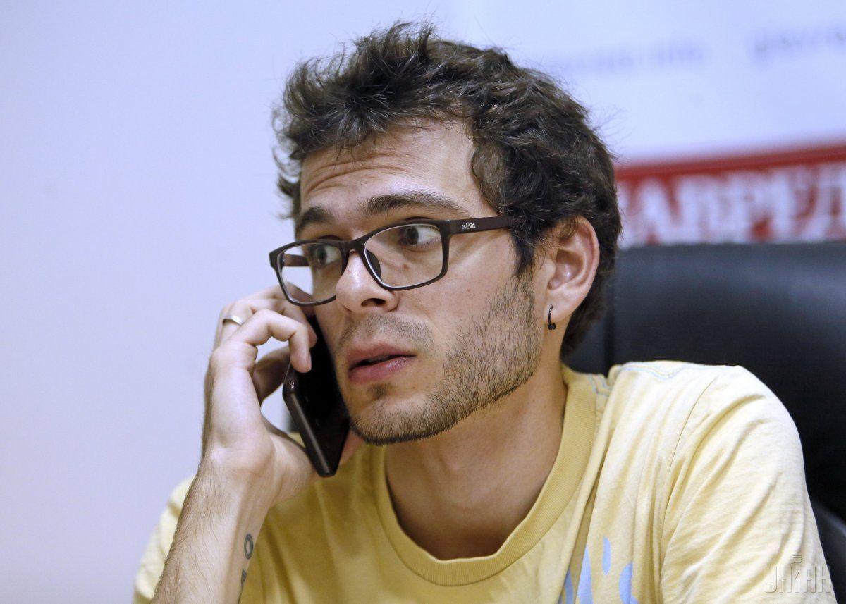 Єгор Стадний зазначає, що не треба в 17-річному віці прирікати себе на вузьку професію  / фото УНІАН