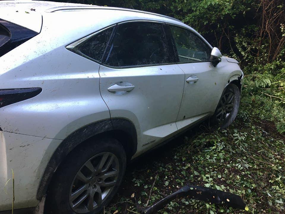 Ехал натаран: из-за водителя Лексус наЗакарпатье пострадал пограничник
