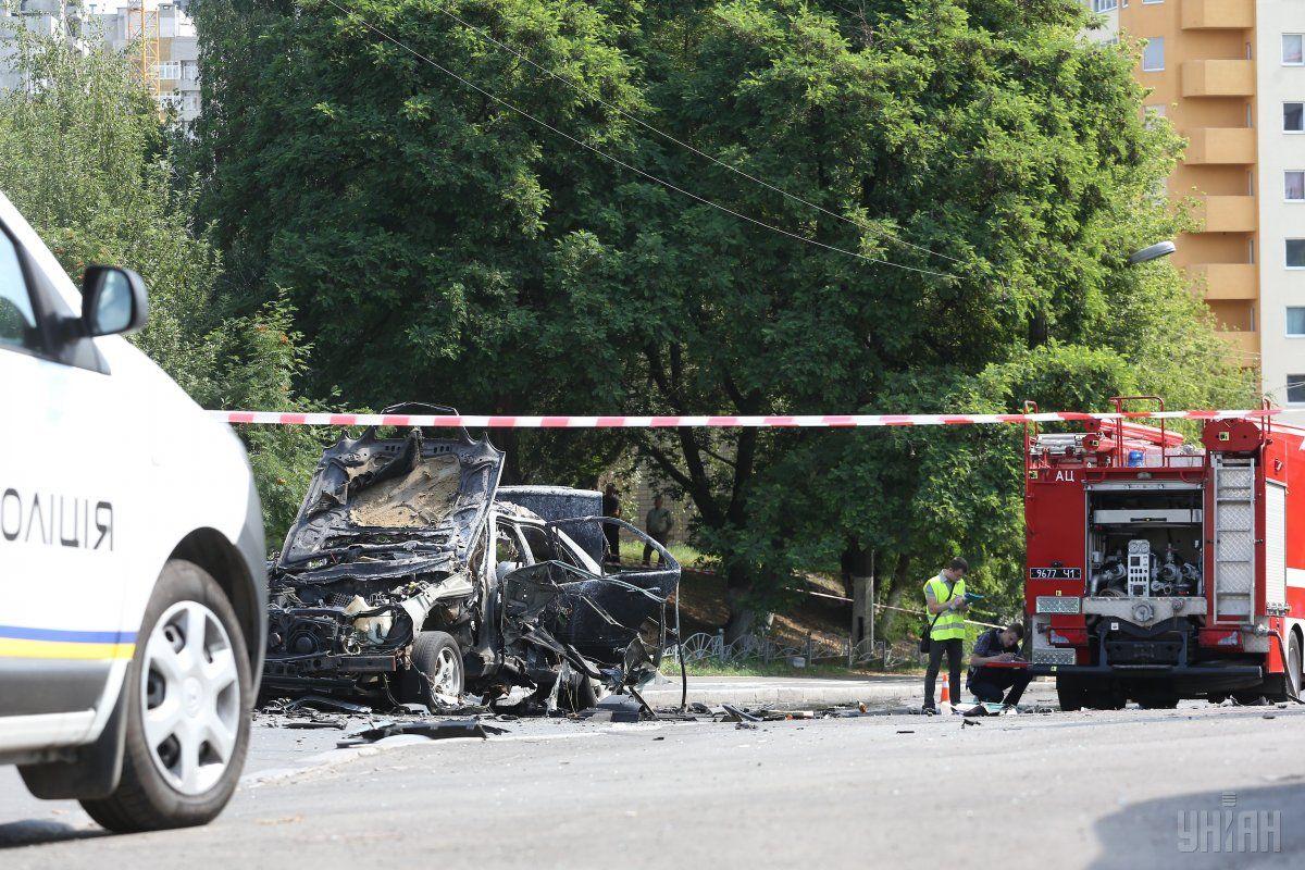 ГПУ розшукує очевидців теракту, в результаті якого загинув полковник Шаповал