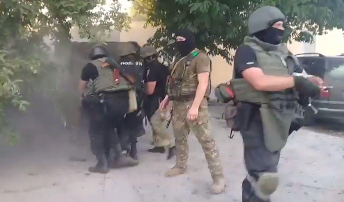 В полиции заявили о том, что конфликт в селе провоцировали обе стороны / скриншот