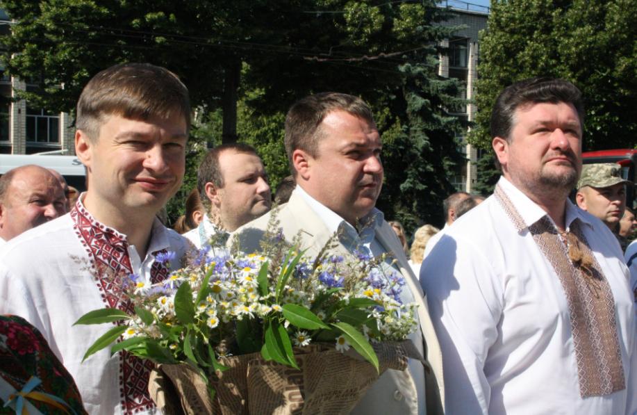 У Житомирі поклали квіти до пам'ятників визначним українцям