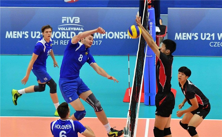 Молодіжна збірна України з волейболу здобула свою першу перемогу на чемпіонаті світу