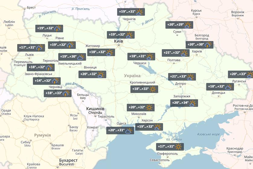 Главный воронежский метеоролог: «Жара возвратится всередине июля»