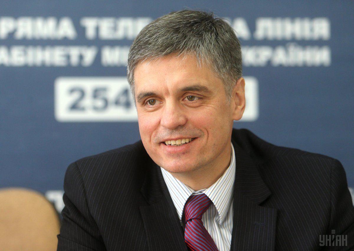 Пристайко ответил, что прибыл в Украину для помощи в проведении инаугурационных мероприятий / Фото УНИАН