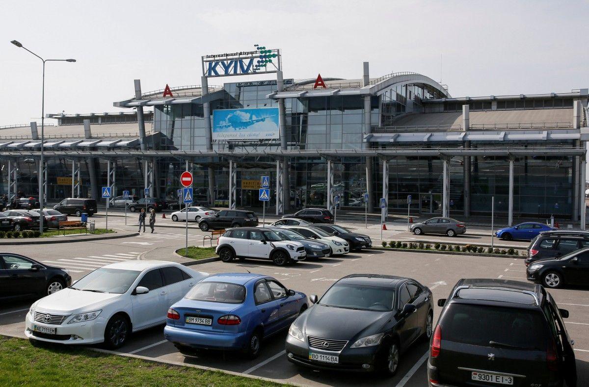 """Аэропорт """"Киев"""" в феврале перевез на 41,7% больше пассажиров / Иллюстрация REUTERS"""
