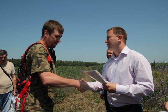 На Тернопільщині ще 24 бійці АТО отримали земельні ділянки / Фото: прес-служба ТОДА