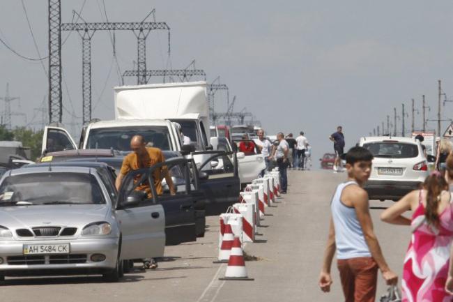 Недавно боевики обстреляли гражданских лиц на КПВВ