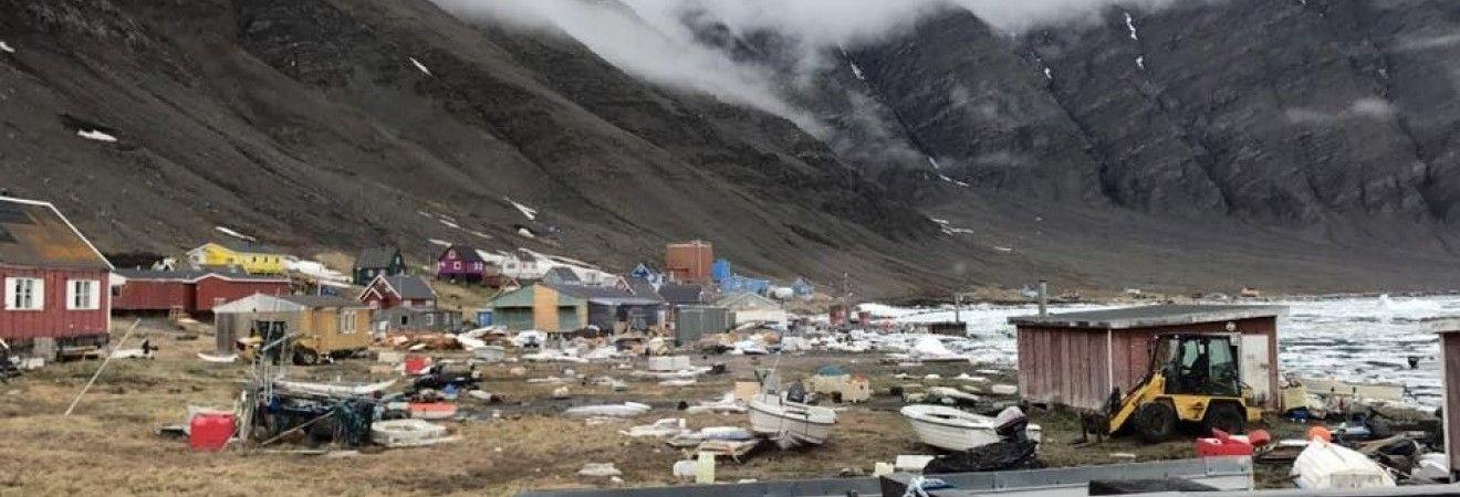 В Гренландии цунами смыло в море дома, есть пропавшие без вести