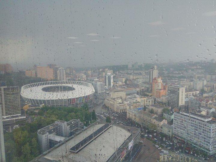 У Києві сьогодні пройде дощ / Фото: Олексій Лимаренко