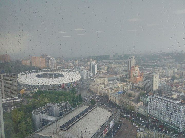 Ввечері у Києві пройде дощ / Фото: Олексій Лимаренко