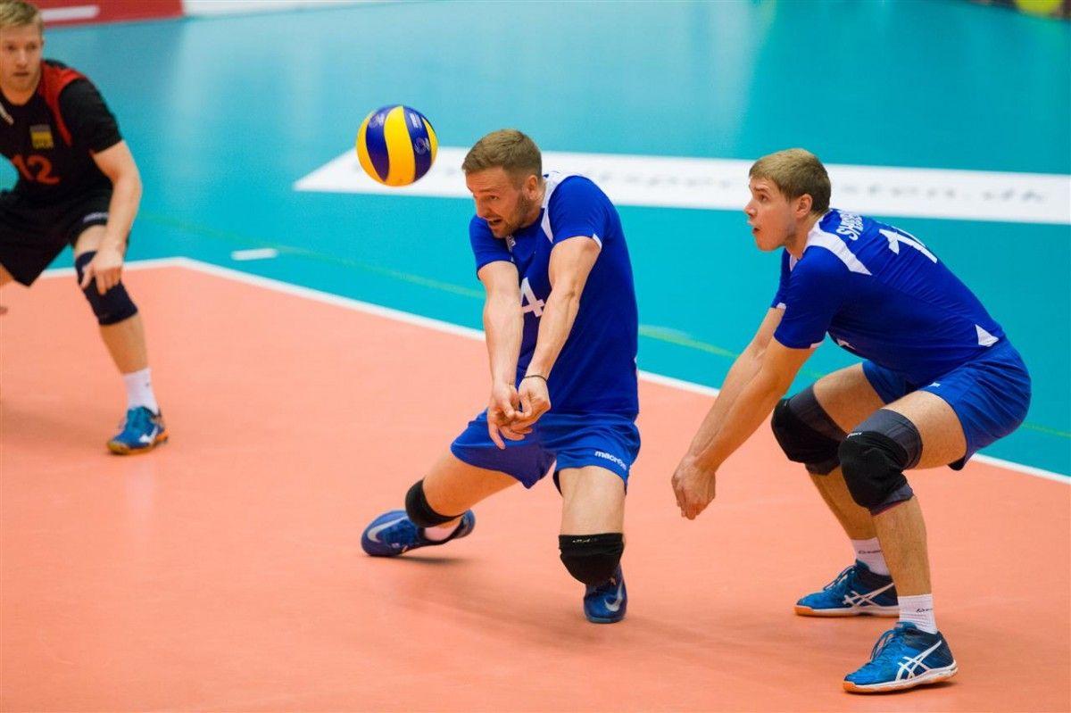 Сборная Украины поволейболу выиграла Евролигу