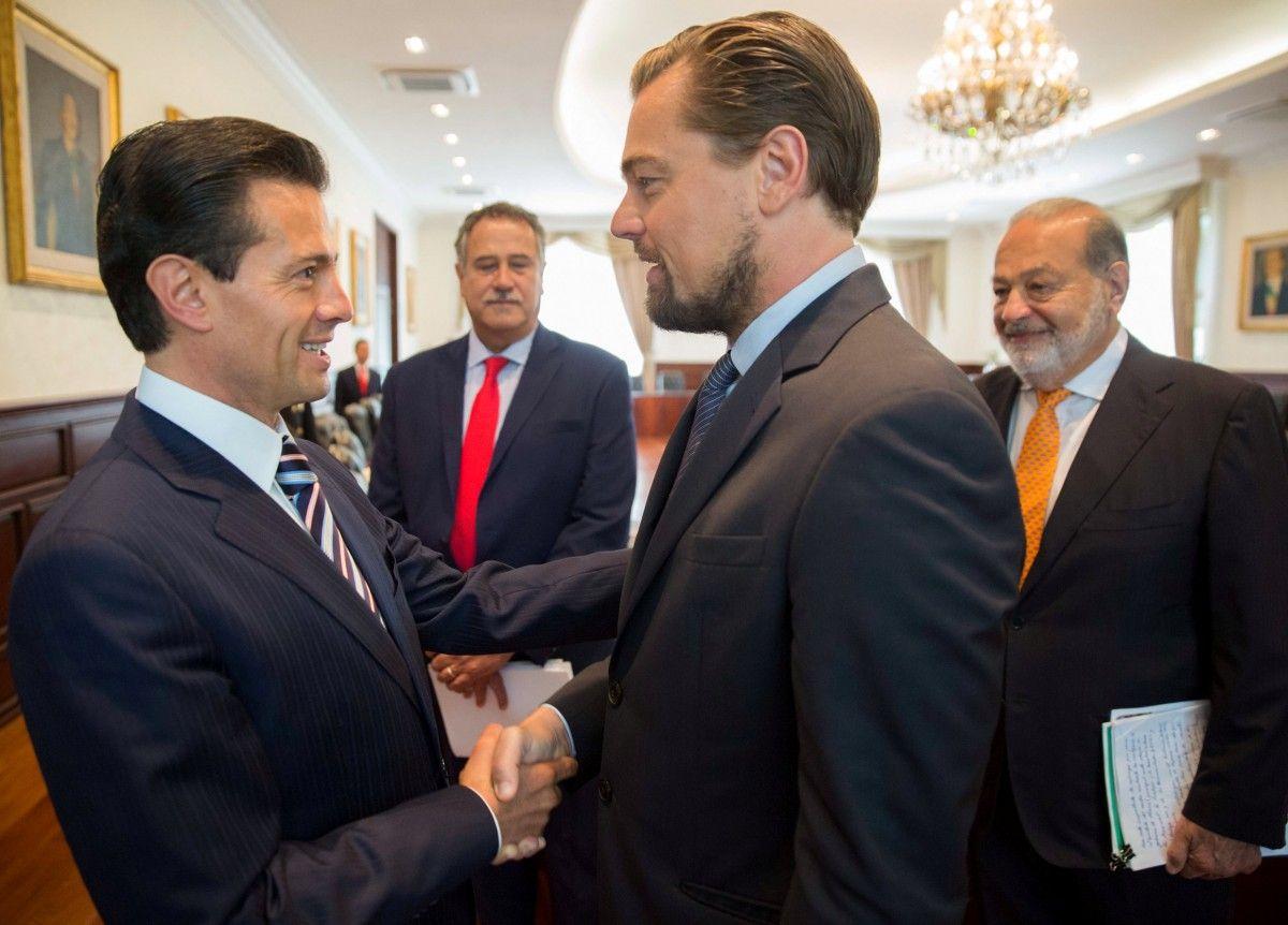 Енріке Пенья Ньєто і Леонардо Ді Капріо / REUTERS