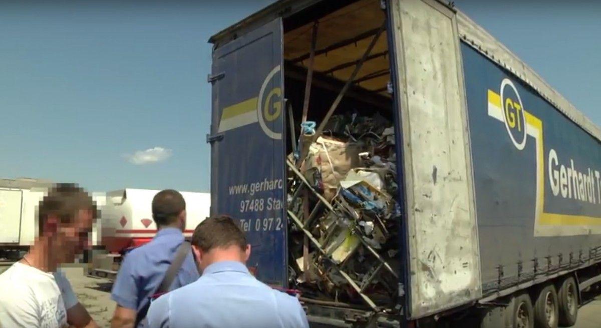 Кадр из видео полиции Черкасской области