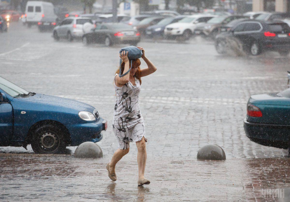 У столиці сьогодні очікуються опади / фото УНІАН