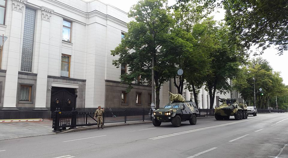 Под ВР будет демонстрироваться техника, произведенная украинскими предприятиями / Facebook Андрей Ницой