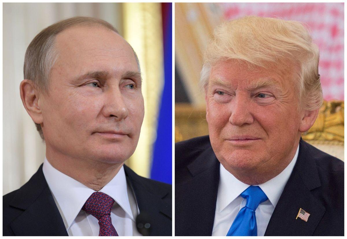 Владимир Путин и Дональд Трамп / REUTERS
