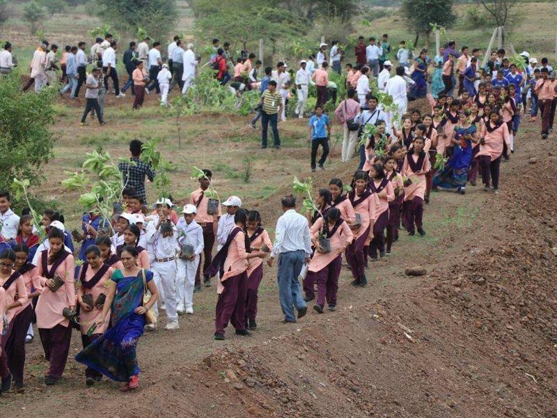 Акція зібрала 1,5 мільйона чоловік / фото Madhya Pradesh Government