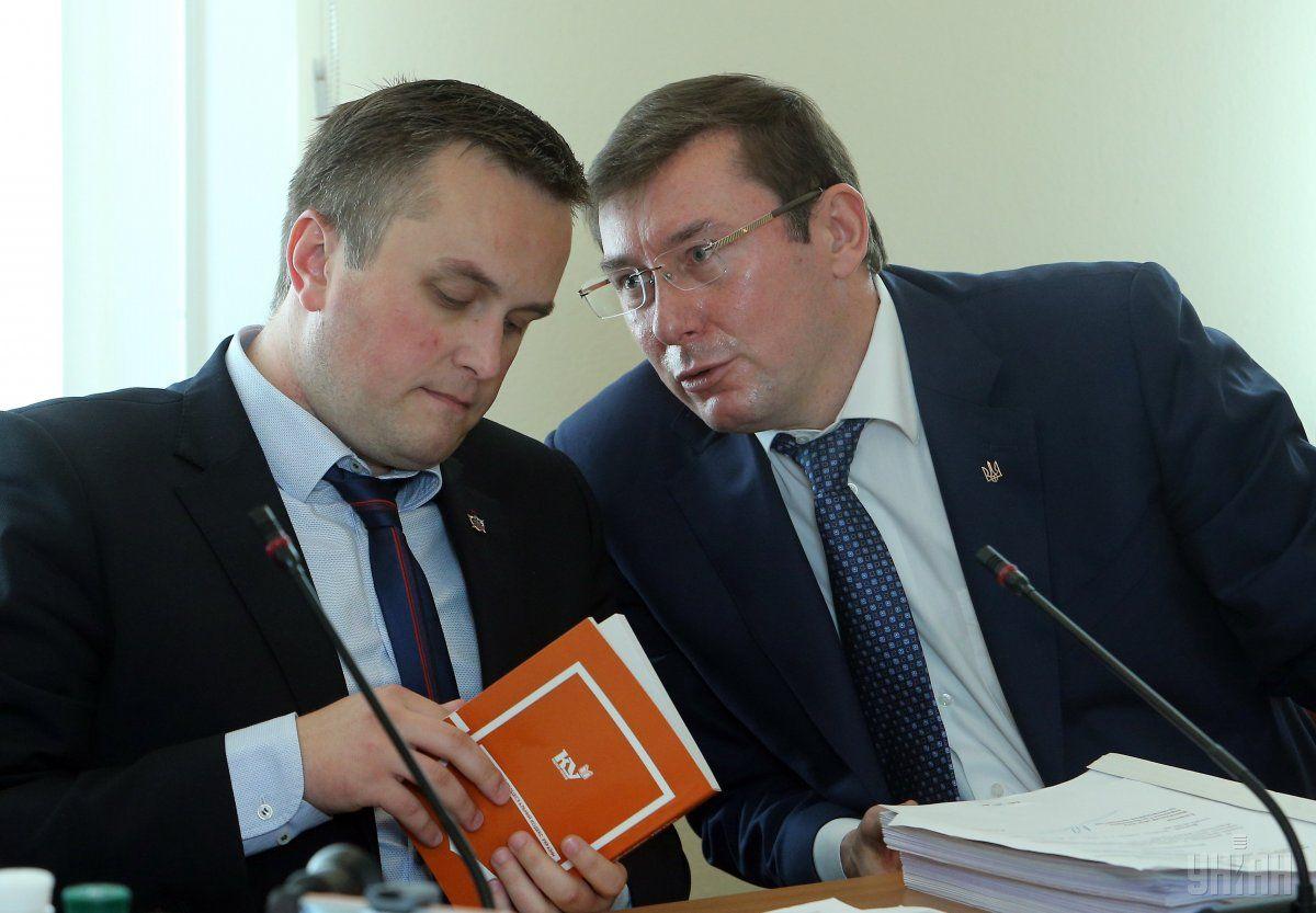 Юрій Луценко не чекає притягнення Холодницького до кримінальної відповідальності / УНІАН