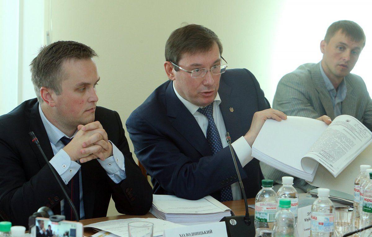 Скандал вРаде: Луценко внегодовании покинул совещание  поПолякову