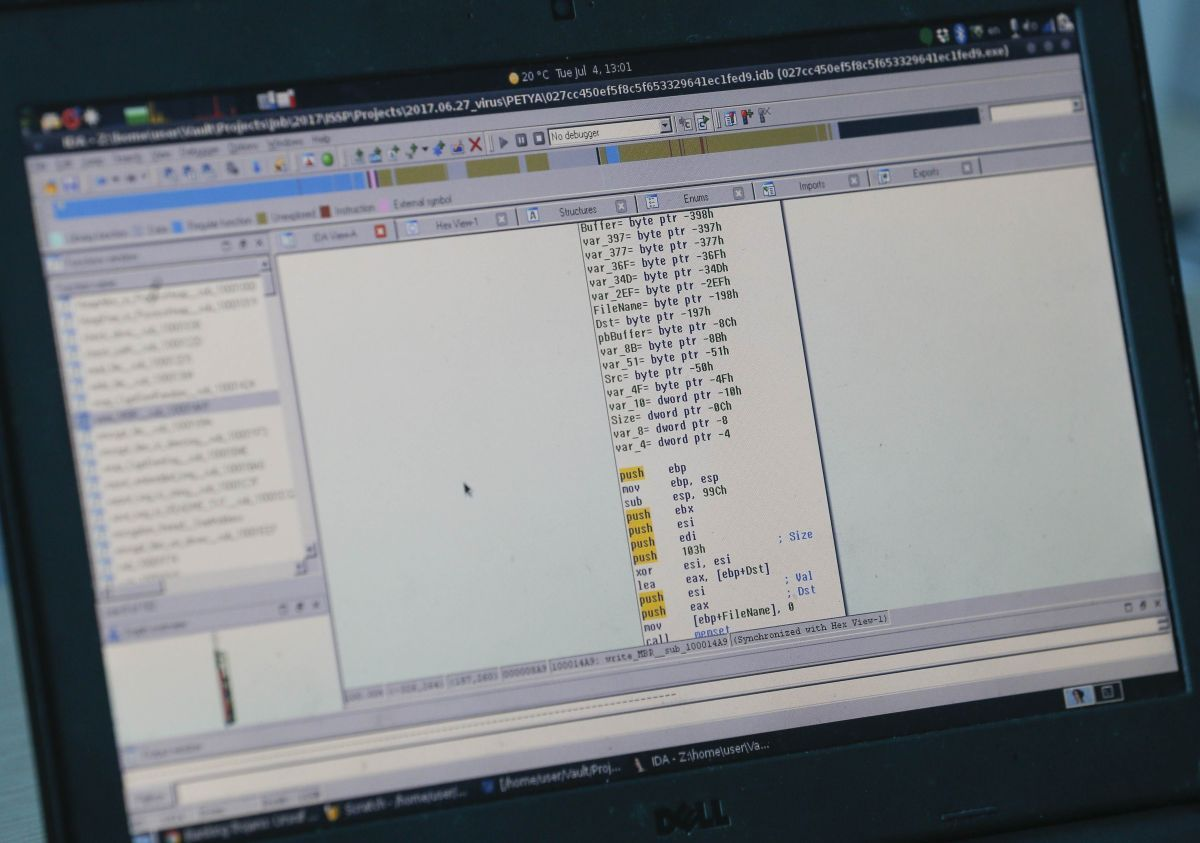 Массовая хакерская атака накрыла Украину 27 июня / REUTERS