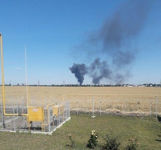 Очевидцы говорят об одном пострадавшем в результате пожара / фото dumskaya.net