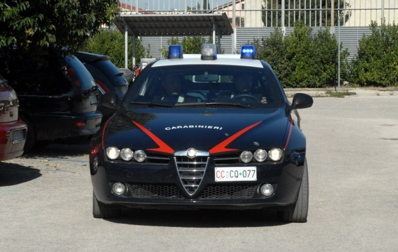 Поліція Італії заарештувала двох українців / фото reggiotv.it