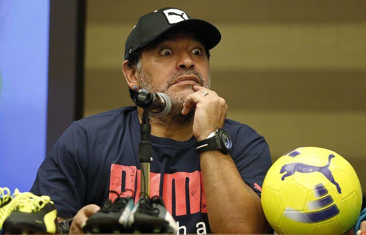 Диего Марадона / AP Photo