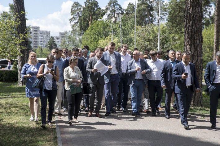 Кличко: Київ буде містом парків і скверів, а не містом МАФів та базарів / Фото kievcity.gov.ua